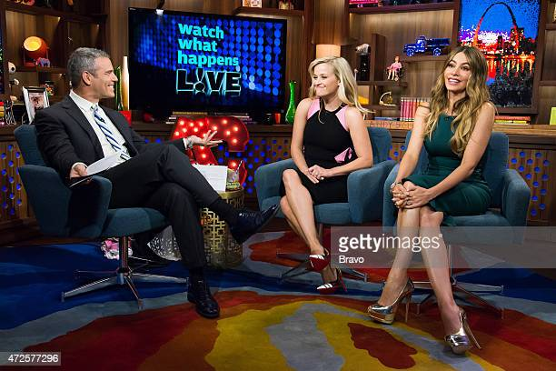 Pictured : Andy Cohen, Reese Witherspoon and Sofia Vergara --