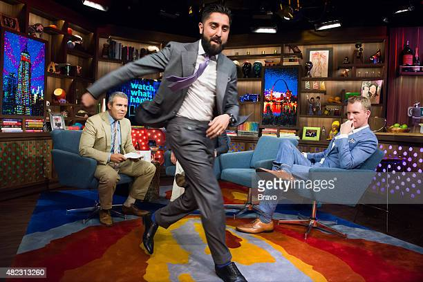 Andy Cohen Roh Habibi and Andrew Greenwell