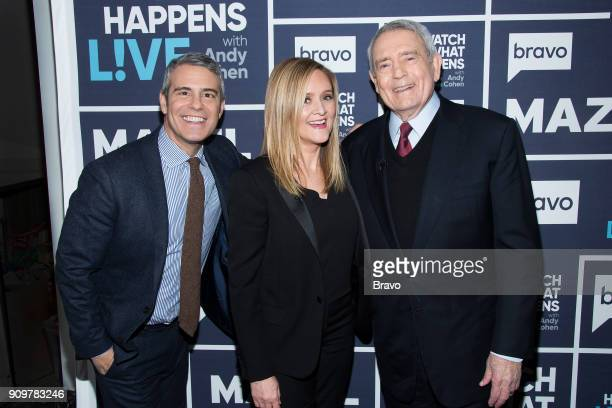 Andy Cohen Samantha Bee and Dan Rather