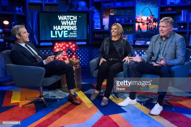 Andy Cohen Sandy Yawn and Anthony Michael Hall