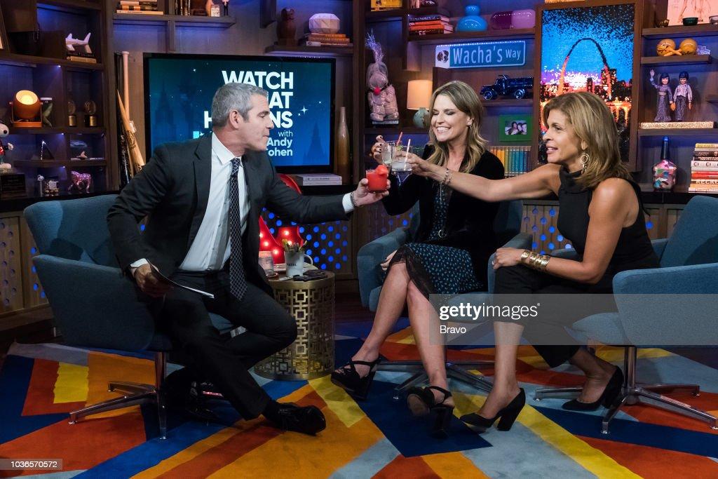 Andy Cohen, Savannah Guthrie and Hoda Kotb --