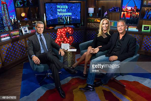 Andy Cohen Shannon Beador and David Beador