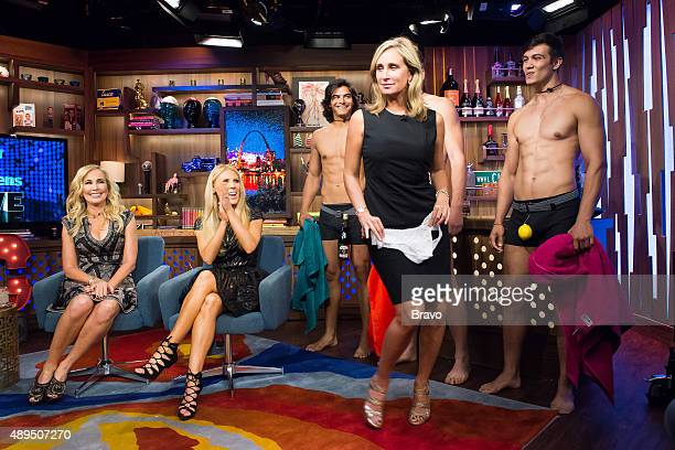 Andy Cohen Shannon Beador and Gretchen Rossi