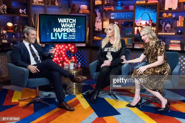Andy Cohen Shannon Beador and Leslie Grossman