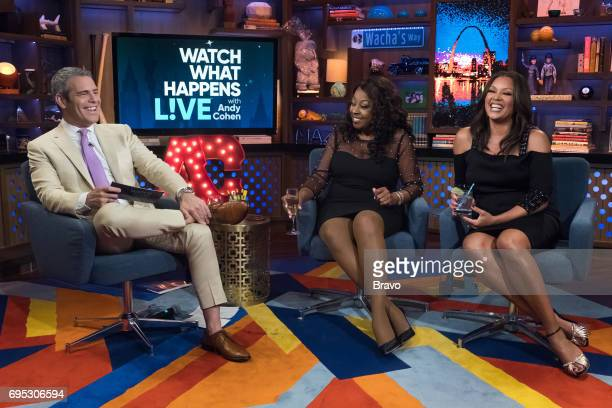 Andy Cohen Star Jones and Vanessa Williams