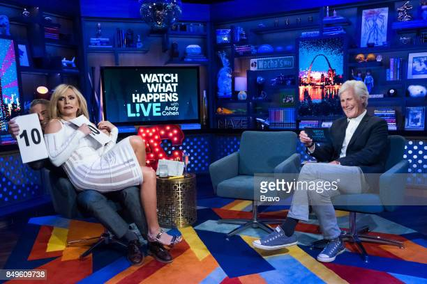 Andy Cohen Tamra Judge and Keith Morrison
