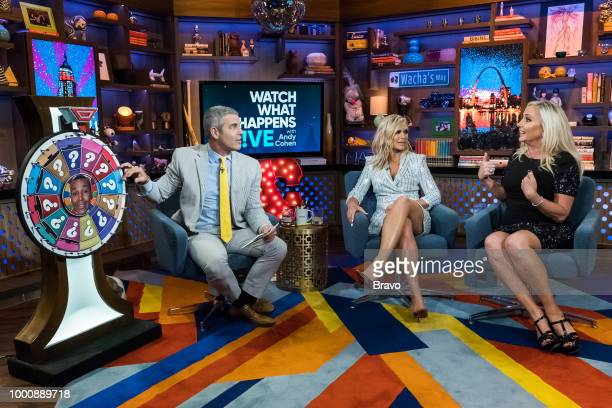 Andy Cohen Tamra Judge and Shannon Beador