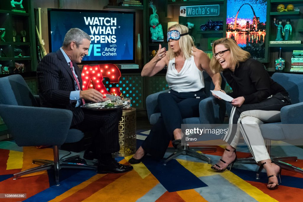 Andy Cohen, Vicki Gunvalson and S.E. Cupp --