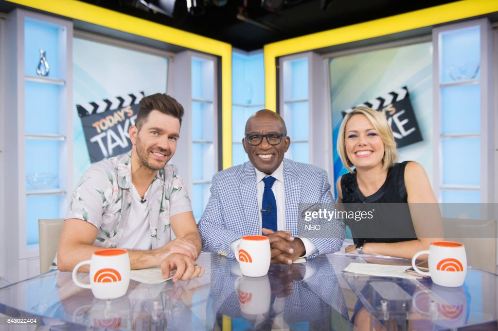 Andy Grammer, Al Roker and Dylan Dreyer on Monday, June 23, 2017 --