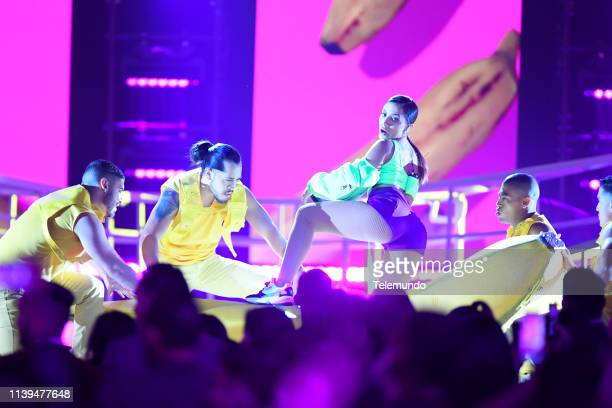 Pictured: Anitta performs at the Mandalay Bay Resort and Casino in Las Vegas, NV on April 25, 2019 --