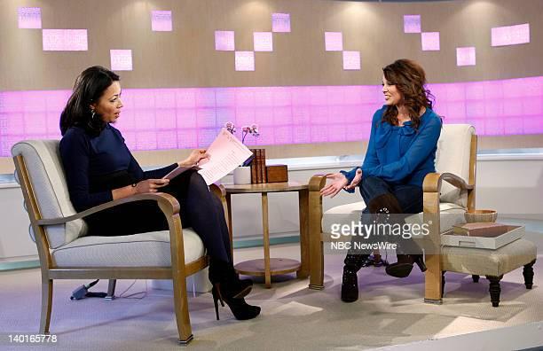 Ann Curry and Amy Duggar appear on NBC News' 'Today' show