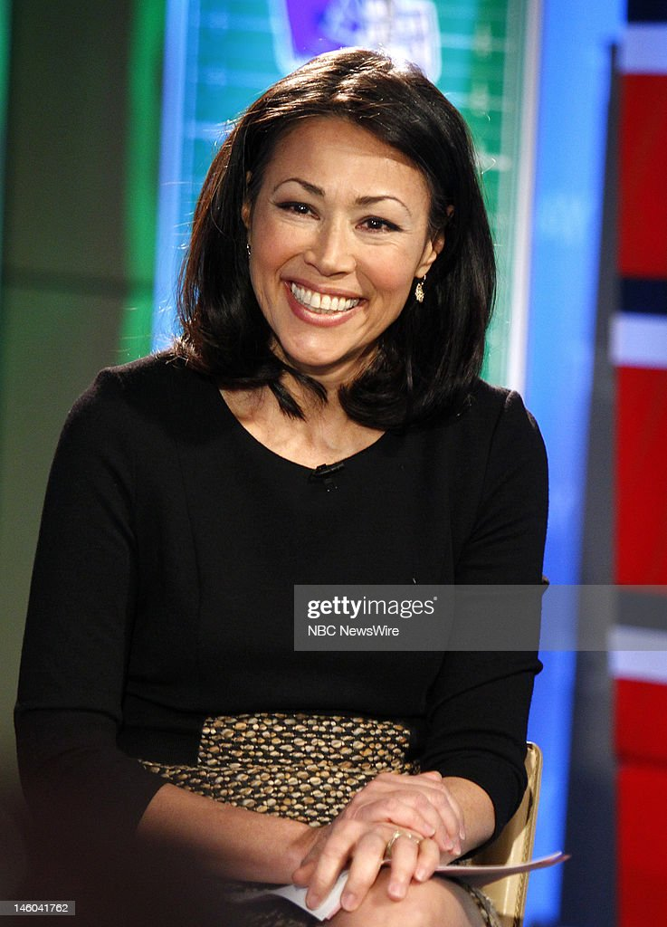 Ann Curry appears on NBC News' 'Today' show