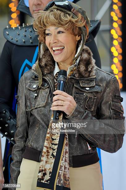 Ann Curry as Amelia Earhart appears on NBC News' 'Today' show