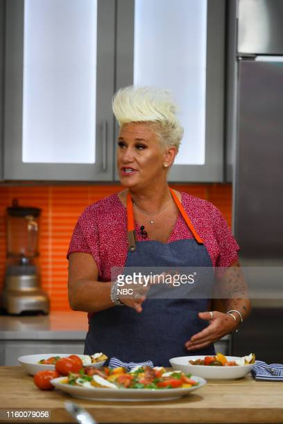 Anne Burrell on Tuesday August 6 2019