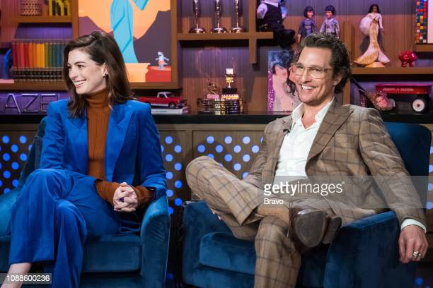 Anne Hathaway and Matthew McConaughey