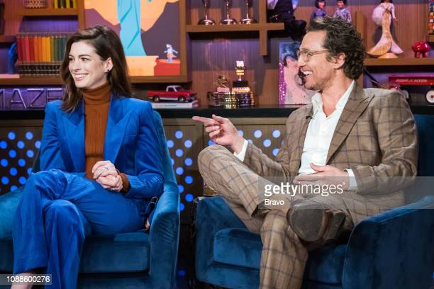Anne Hathaway and Matthew McConaughey
