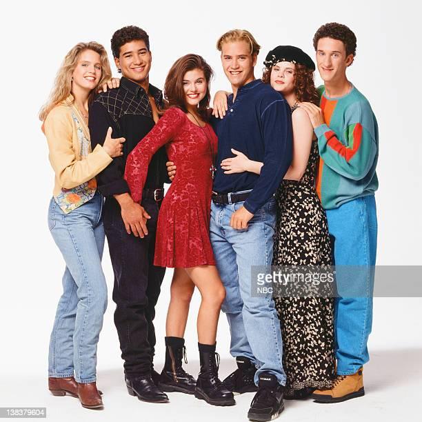 Anne Tremko as Leslie Burke Mario Lopez as AC Slater Tiffani Thiessen as Kelly Kapowski MarkPaul Gosselaar as Zack Morris Kiersten Warren as Alex...