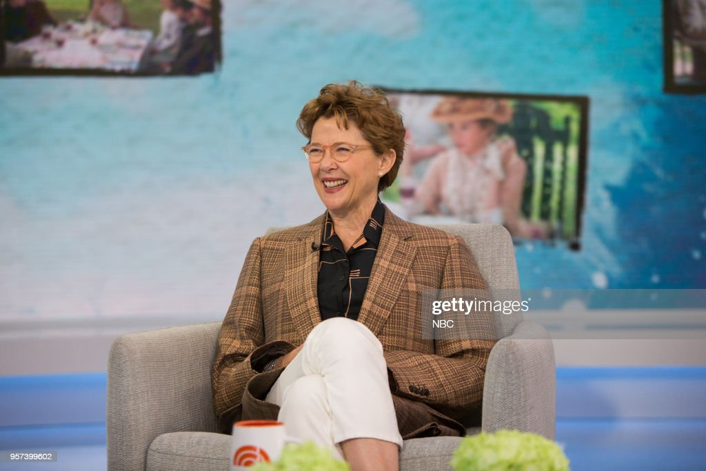 """NBC's """"TODAY"""" With guests Justin Hartley, Ambush Makeovers, Annette Bening"""