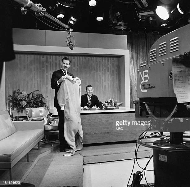 Announcer Ed McMahon host Johnny Carson on December 6 1962