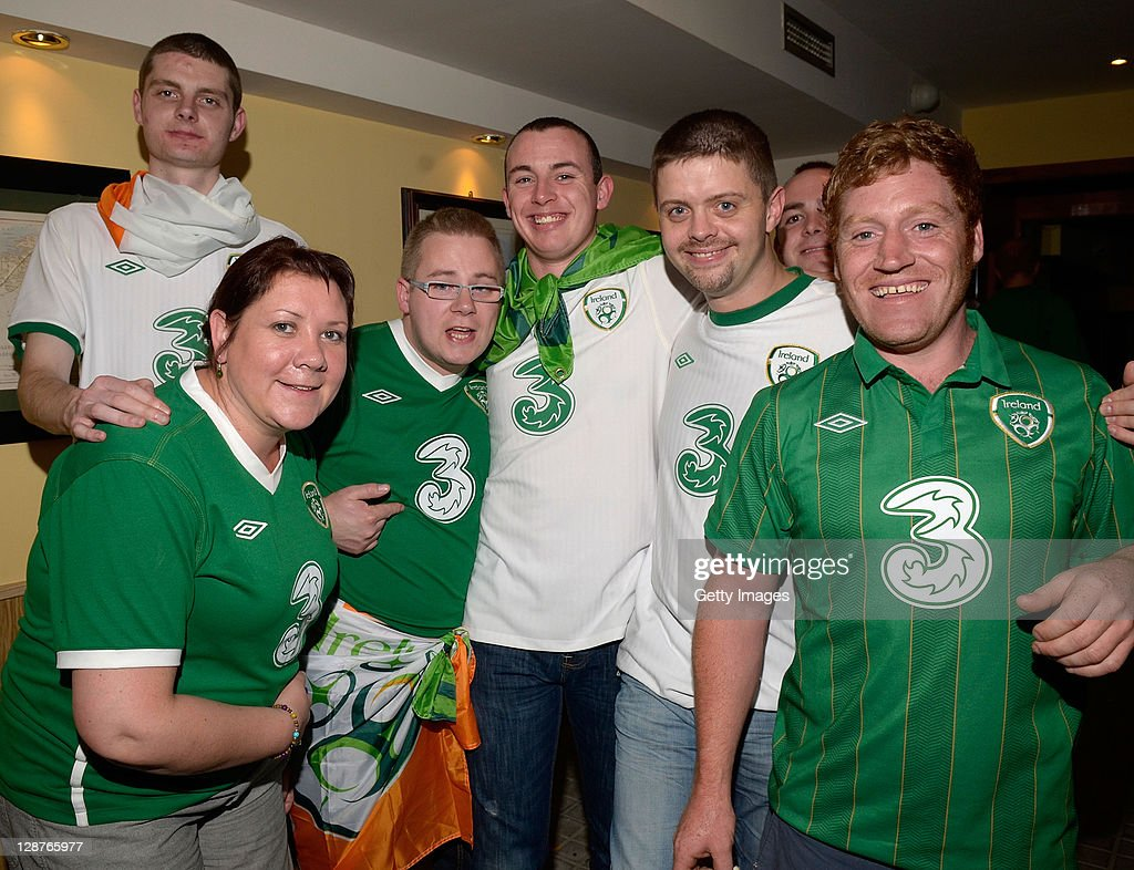 Three Host Party For Irish Fans After Republic Of Ireland Vs Andorra Match