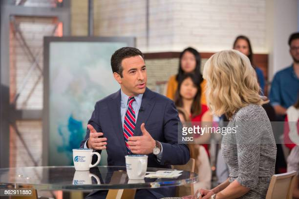 Ari Melber and Megyn Kelly on Wednesday October 11 2017
