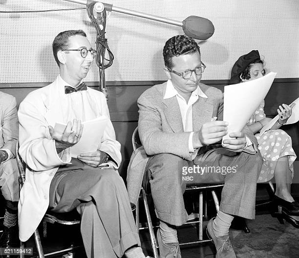 Pictured: Arnold Stang, Henry Morgan --