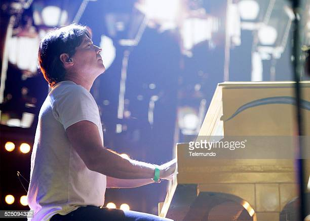 Arthur Hanlon rehearses for the 2016 Billboard Latin Music Awards at the BankUnited Center in Miami Florida on April 25 2016