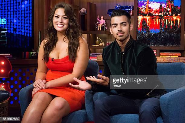 Ashley Graham and Joe Jonas