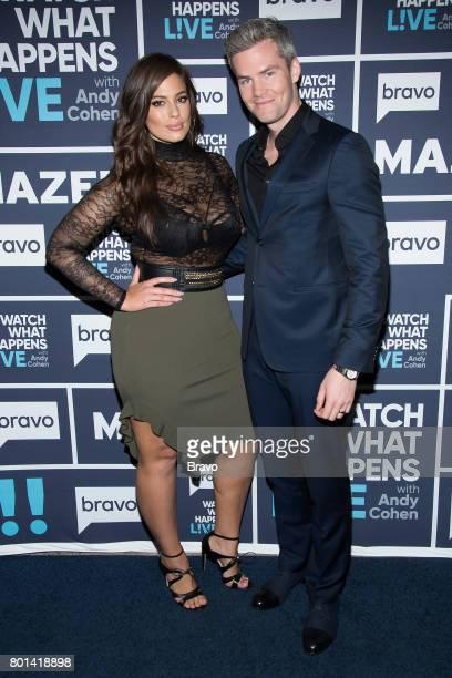 Ashley Graham and Ryan Serhant
