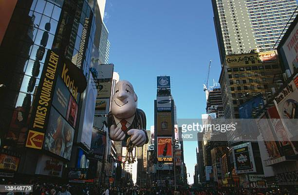 Ask Jeeves balloon during the 2000 Macy's Thanksgiving Day Parade