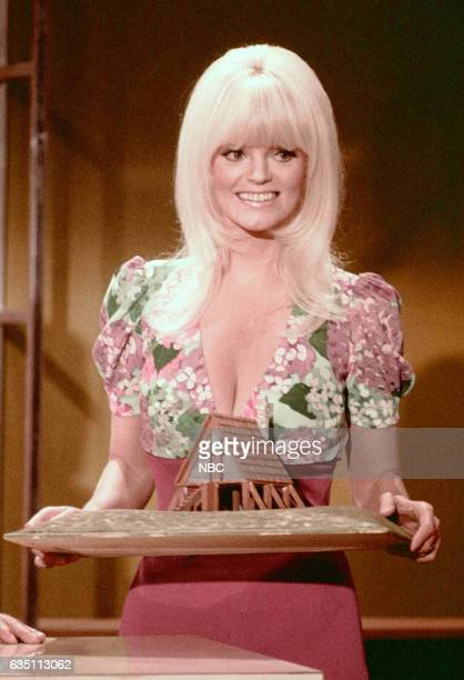 Assistant Carol Wayne during Tea Time Movie sketch on May 10th 1971