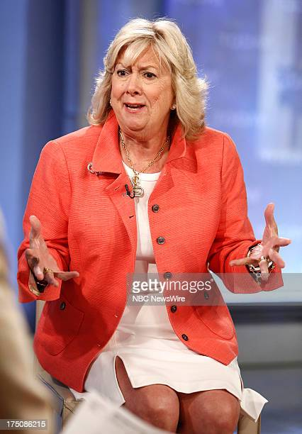 Author Linda Fairstein appears on NBC News' Today show on July 31 2013