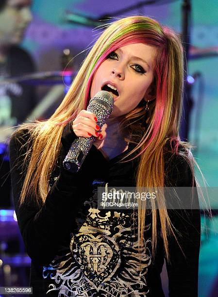 Avril Lavigne performs on NBC News' 'Today' show