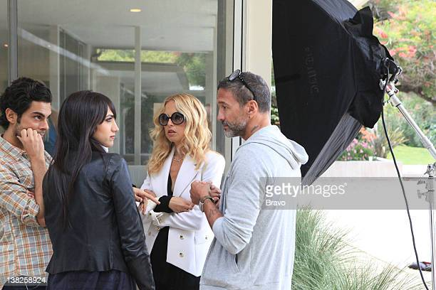 'Baby Changes Everything' Episode 408 Pictured Joey Maalouf Mandana Dayani Rachel Zoe design director Eric Sartori