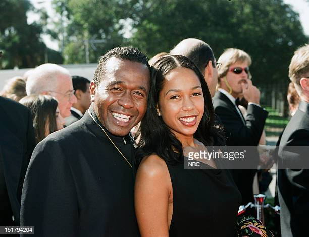 Ben Vereen daughter Karon Vereen arrive at the 50th Annual Primetime Emmy Awards held at the Shrine Auditorium in Los Angeles CA on September 13 1998