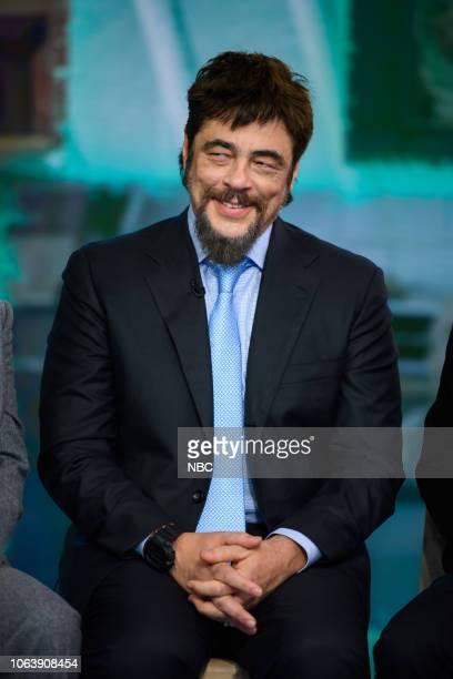 Benicio del Toro on Wednesday November 14 2018