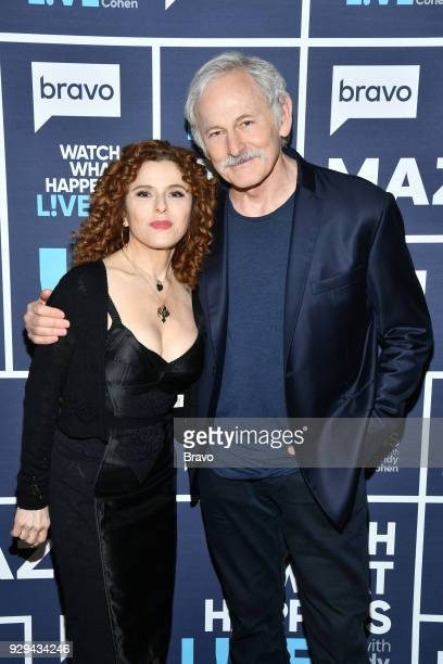 Bernadette Peters and Victor Garber