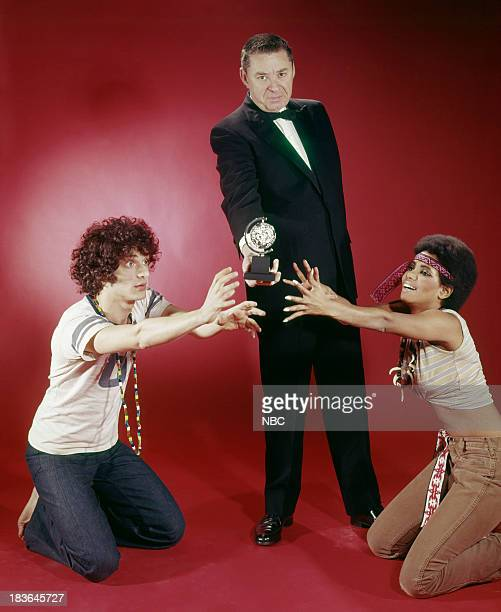 BROADWAY '69 Pictured Best Musicial Nominee for 'Hair' actor Paul Jabara producer Alexander H Cohen actress Melba Moore as Dionne