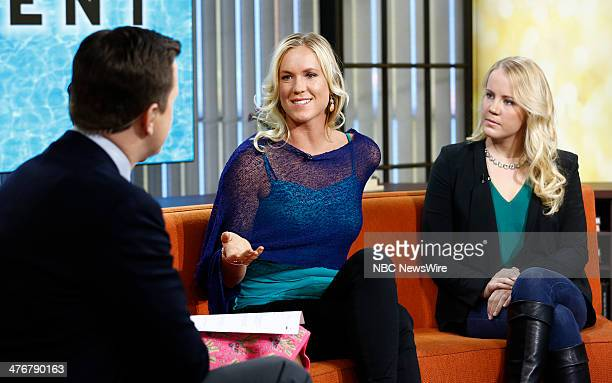 Bethany Hamilton and Mallory Weggemann appear on NBC News' 'Today' show