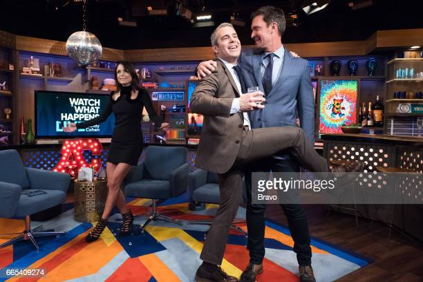 Bethenny Franke Andy Cohen and Jeff Lewis