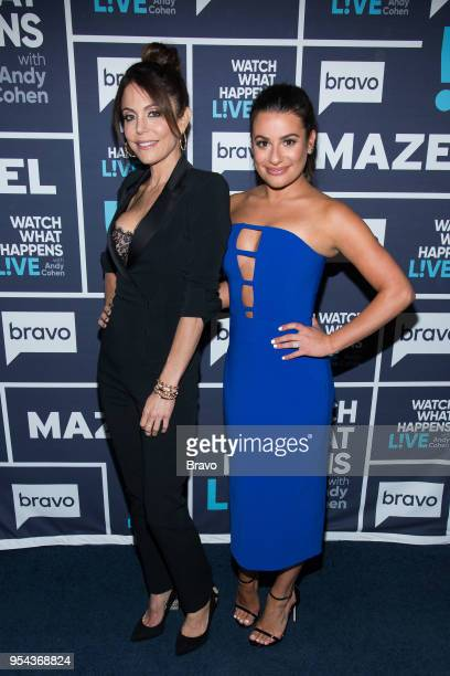 Bethenny Frankel and Lea Michele