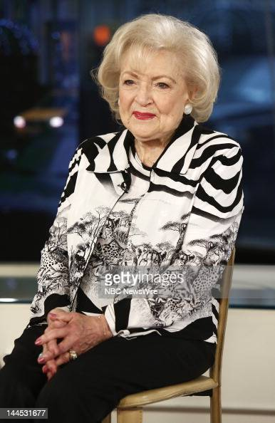 "Betty White appears on NBC News' ""Today"" show -- News ..."