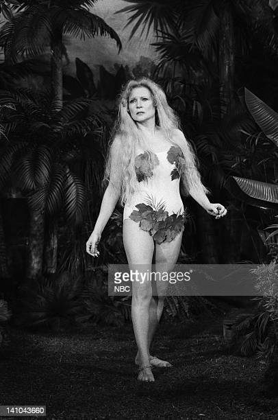 Betty White as Eve during an Adam Eve palimony suit skit on February 8 1979 Photo by Gene Arias/NBC/NBCU Photo Bank