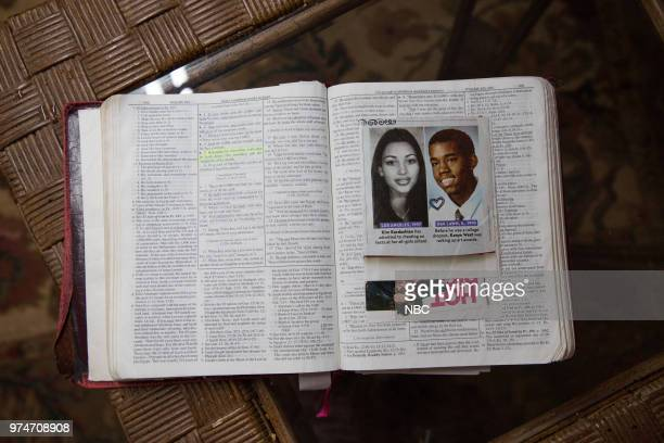 Bible belonging to Alice Johnson which she carried with her during her time in prison Wednesday June 13 2018