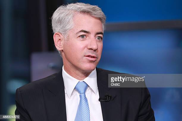 Pictured: Bill Ackman, founder and CEO of Pershing Square Capital Management, in an interview on September 11, 2015 --