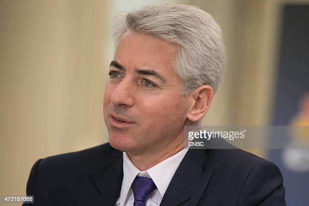 Pictured: Bill Ackman, Pershing Square Capital Management CEO and Portfolio Manager, in an interview at the 20th Annual Sohn Investment Conference in...