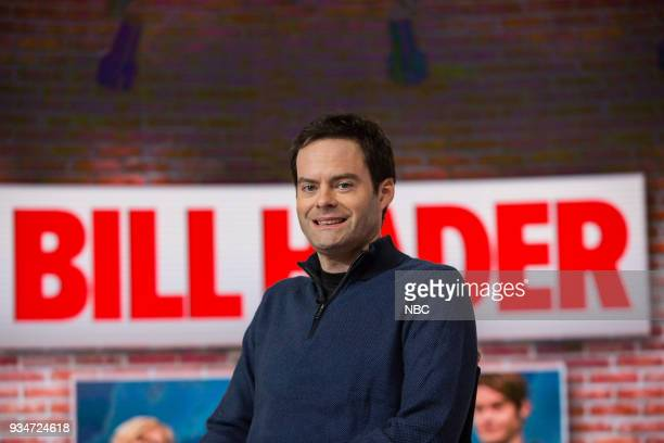 Bill Hader on Monday March 19 2018