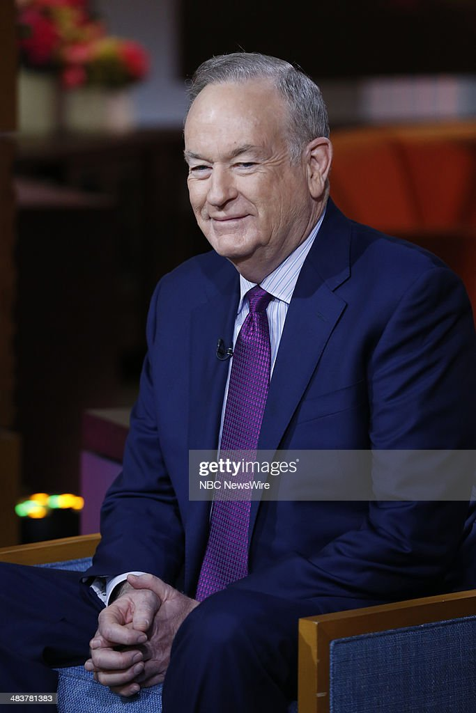 Bill O'Reily appears on NBC News' 'Today' show --