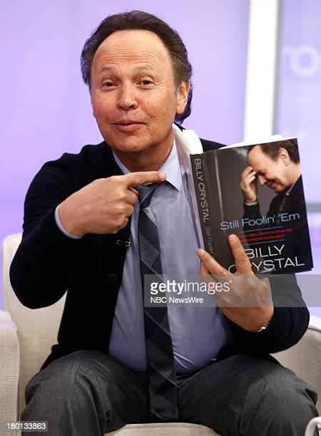 Billy Crystal appears on NBC News' 'Today' show