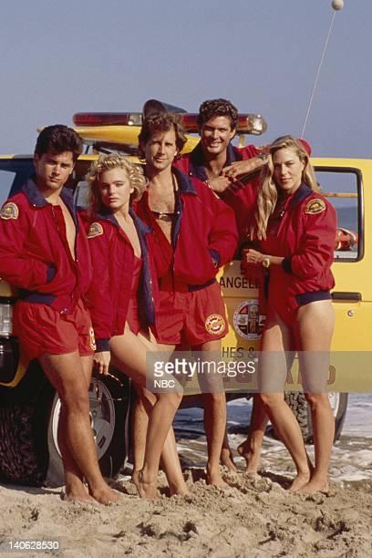 Billy Warlock as Eddie Kramer Erika Eleniak as Shauni McClain Parker Stevenson as Craig Pomeroy David Hasselhoff as Lt Mitch Buchannon Shawn...